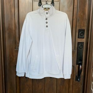 Gently Used Men's Cream Pullover